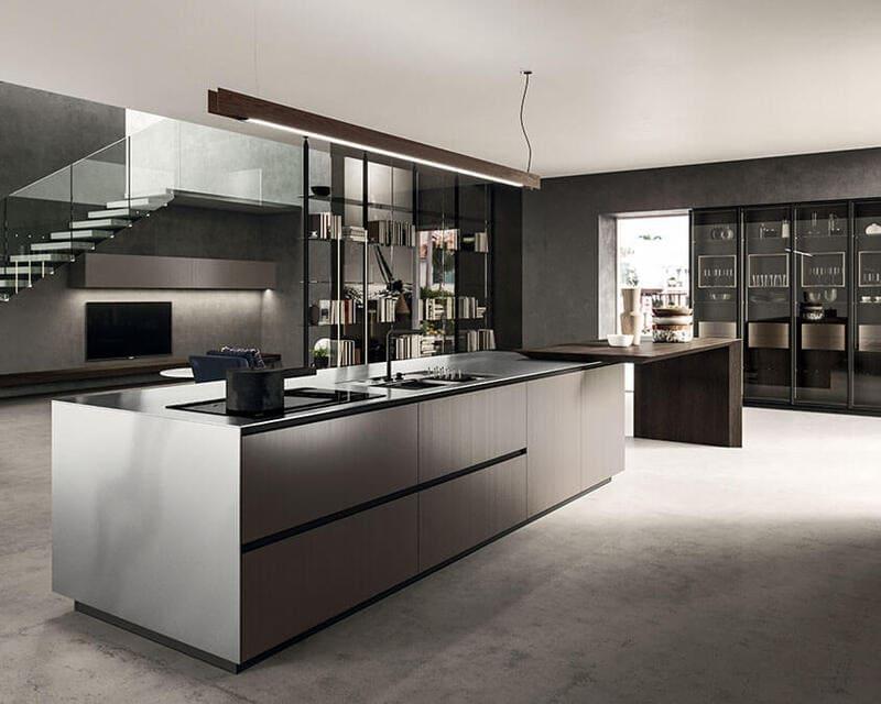 cocina-minimalista-isla-arrital